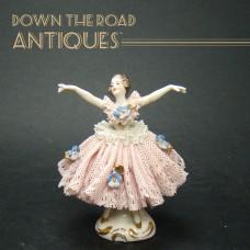 German Ballerina Porcelain Figurine