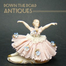 Porcelain German Ballerina Figurine - 1910