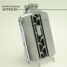 Early Ronson De-light Supercase Lighter and Cigarette Holder Combination