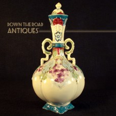 Hand Painted Nippon Porcelain Ewer with Lid - 1920's