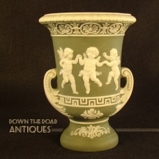 Schafer & Vater Urn Vase with Two Handles - Three Dancing Angels