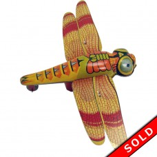 Japanese Tin Dragonfly Friction Toy - Mint (SOLD)