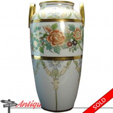 Nippon Porcelain Vase with Two-Handles - 1920's (SOLD)