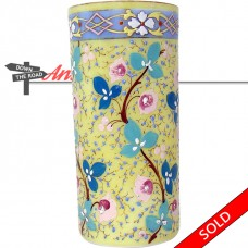 Hand-Painted Opalene Glass Vase - 1910 (SOLD)