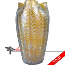 Large Loetz Aeolus Art Glass Vase c. 1902 (SOLD)