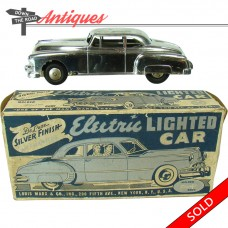 Marx Electric Lighted Car Friction Toy (SOLD)