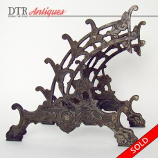 Cast Iron Dip Pen Holder Desk Display - 1880's (SOLD)