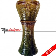 Roseville Pottery Mostique Pedestal and Jardiniere - Arts & Crafts (SOLD)
