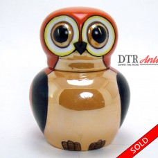 Hand-Painted Art Deco Noritake Owl Ink Well (SOLD)