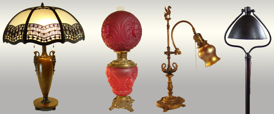 Shop antique lamps and lighting